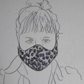 Self-portrait Aly Smith